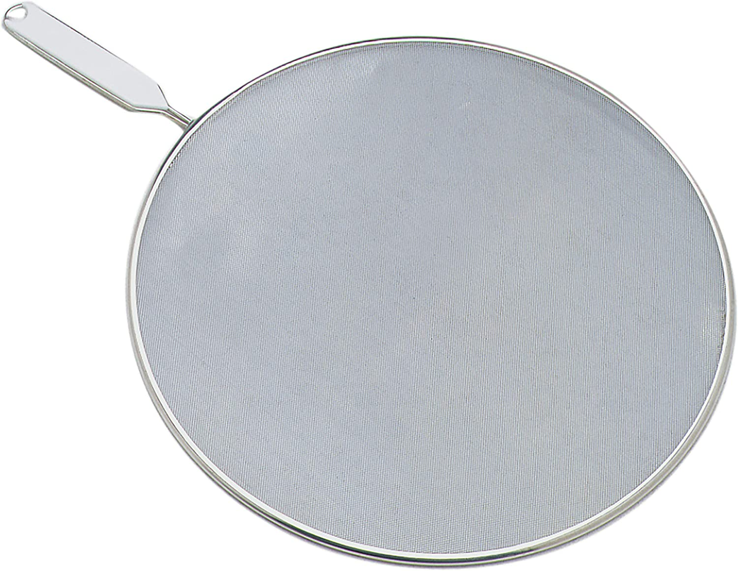 Cooking Anti-Frying Pan Splatter Screen Guard Cover With Handle 33 cm