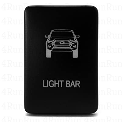 Light Bar Switch For Tacoma Logo 2012+ CENTER CONSOLE ONLY READ Details: Automotive