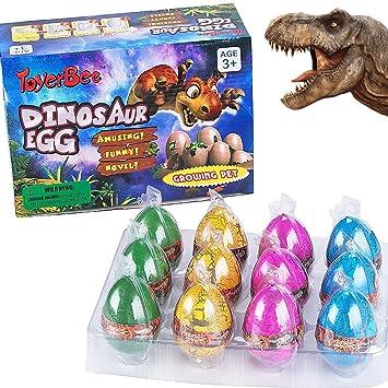 German Trendseller® 3X Dino Huevo (Colorido) mágico ☆ Nuevo ...