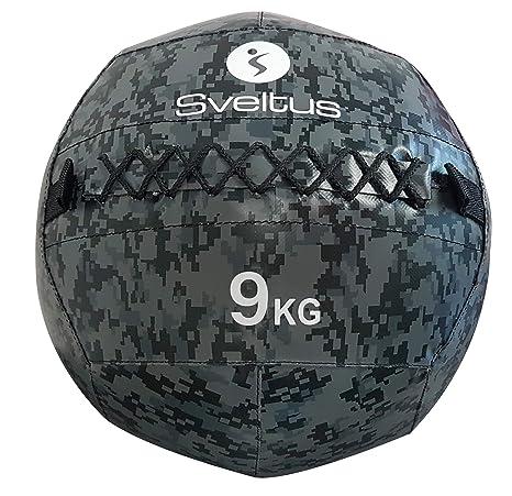 Sveltus Wall Ball Camuflaje - 9 kg: Amazon.es: Deportes y aire libre