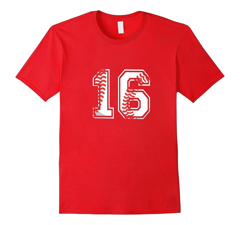 Baseball Birthday T-Shirt for 16 Year Old Awesome Teens-Vaci