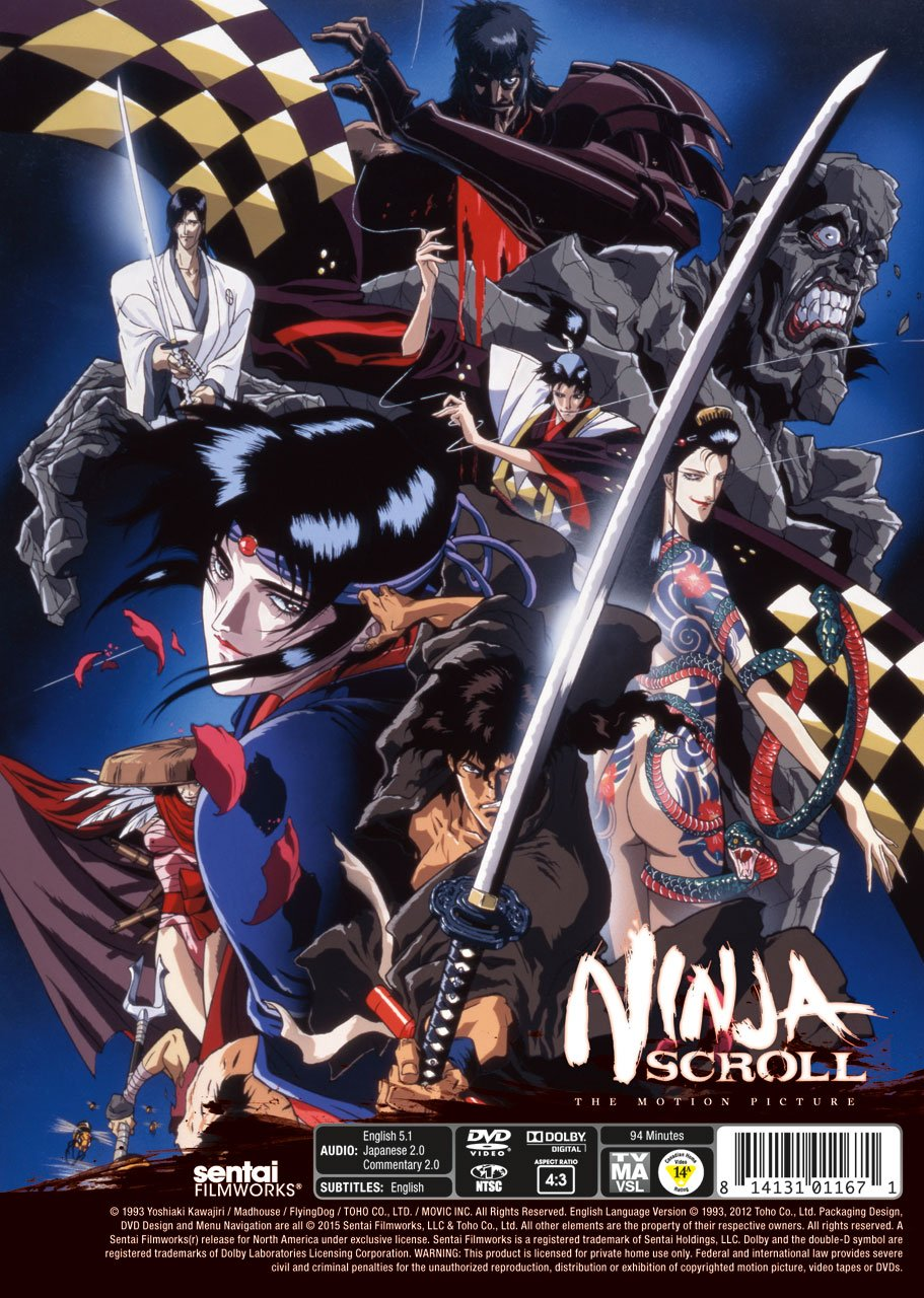 Amazon.com: Ninja Scroll: Dean Wein, Richard Epcar, Kôichi ...