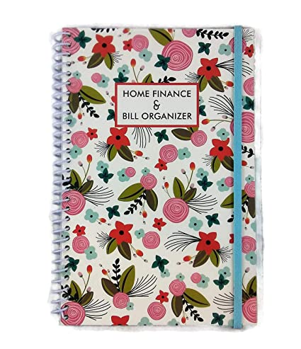 Home Office Expenses 2020.Amazon Com Home Finance Bill Organizer With Pockets