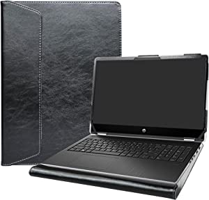 "Alapmk Protective Case for 15.6"" HP Pavilion x360 15 15-dqXXXX (15-DQ0077NR)/HP OMEN Gaming 15-ekXXXX 15-enXXXX (15-ek0023dx) Laptop[Not fit Pavilion X360 15-crXXXX 15-brXXX 15-bkXXX],Black"