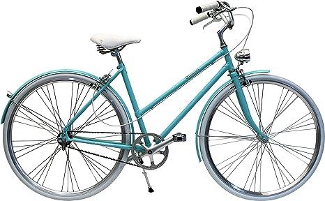 BYCLY Glamour - Bicicleta de Ciudad para Mujer de una Sola ...