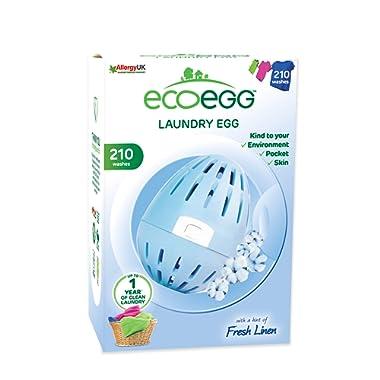 Ecoegg EELE210FL 210 loads Fresh Linen Laundry Egg,Fresh Linen