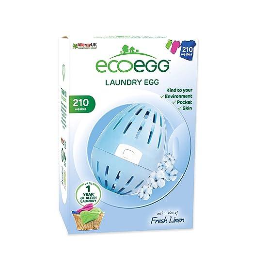 Ecoegg EELE210SC Soft Cotton - Bola para la Colada (210 Lavados ...