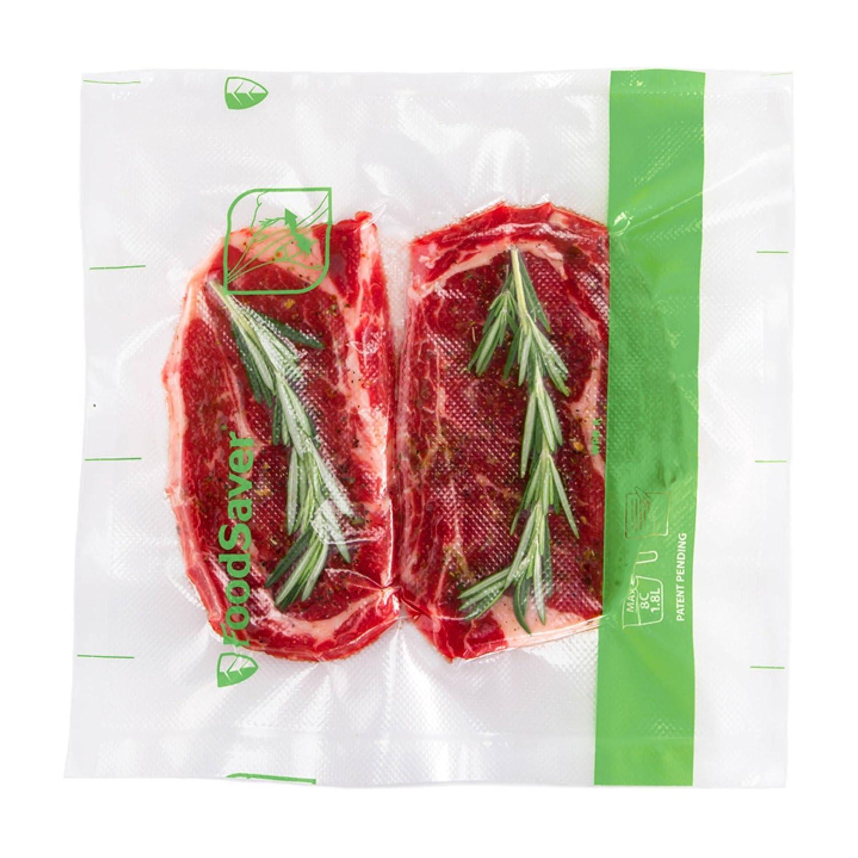 """FoodSaver Easy Seal & Peel 8"""" x 18' Vacuum Seal Roll, 2 Pack"""