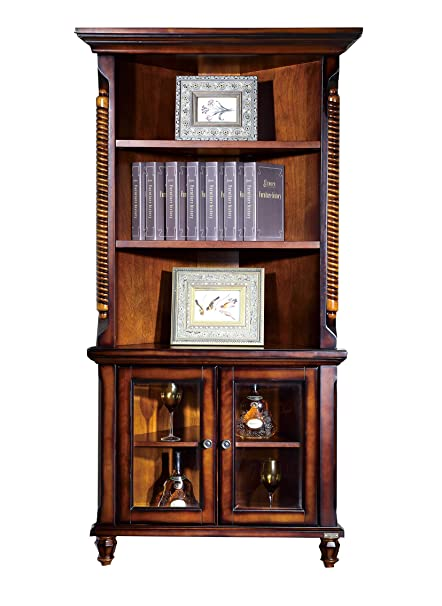 Amazon.com: KELENSHENGKlinson American Corner Cabinet Solid Wood ...