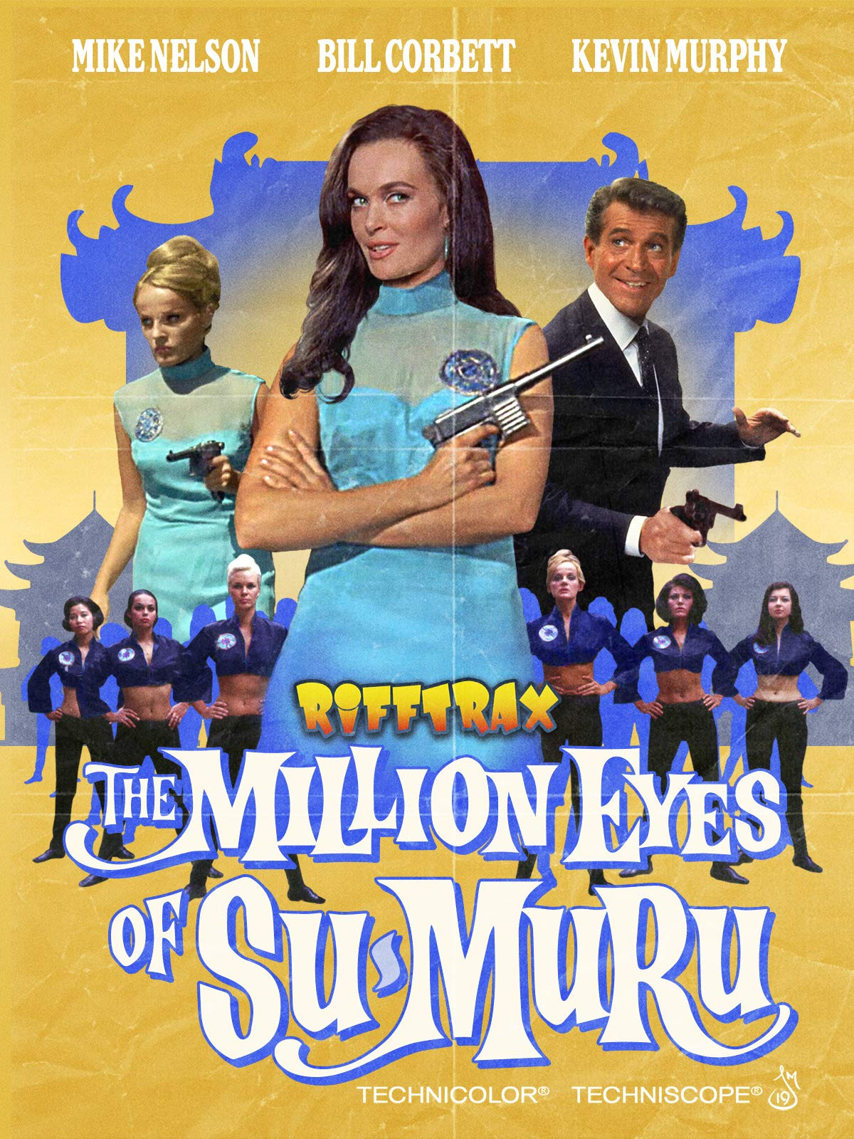 RiffTrax: The Million Eyes of Sumuru on Amazon Prime Video UK