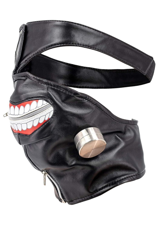 DAZCOS Kaneki Ken Cosplay Mask with Eye Patch