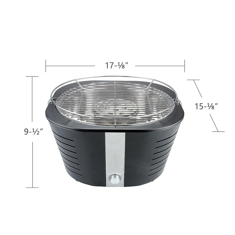 Amazon.com: Portátil carbón vegetal grilli, Interior Al aire ...