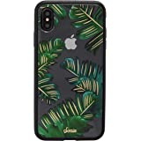 iPhone Xs Max Case, Sonix Bahamas (Palm Leaves) [Military Drop Test Certified] Protective Clear Case Series for Apple iPhone Xs Max