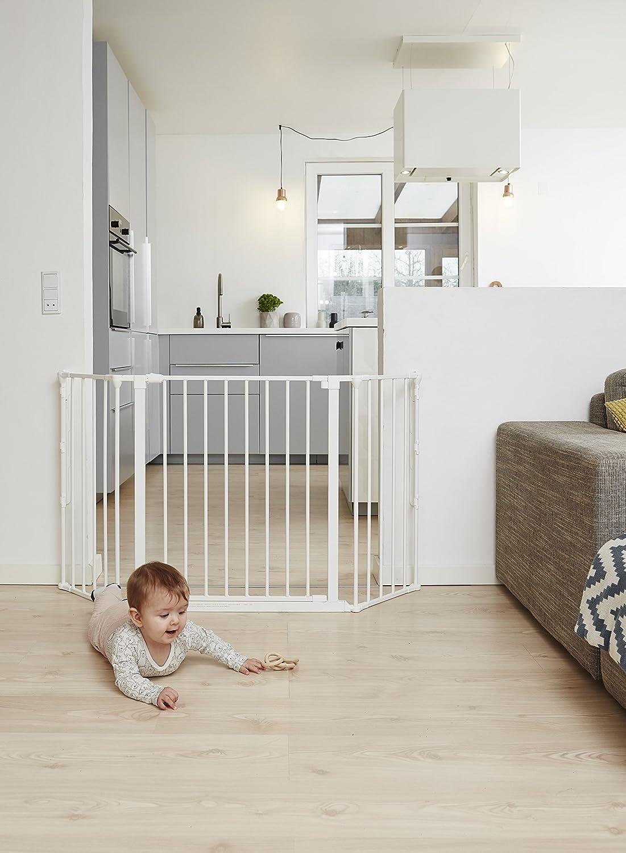 BabyDan Configure Barrera de seguridad para aberturas de 90-223 cm Antracita
