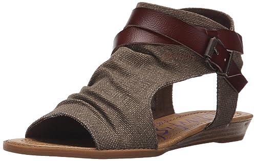 0ca2ced4fce4 Blowfish Women s Balla Wedge Sandal  Amazon.co.uk  Shoes   Bags