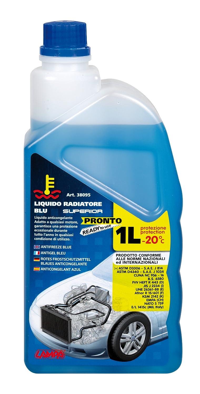 LAMPA 38095 Liquido Radiatore, Blu, 1 Litro