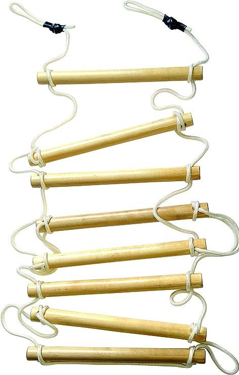 KletterDschungel - Escalera de cuerda para niños: Amazon.es: Deportes y aire libre