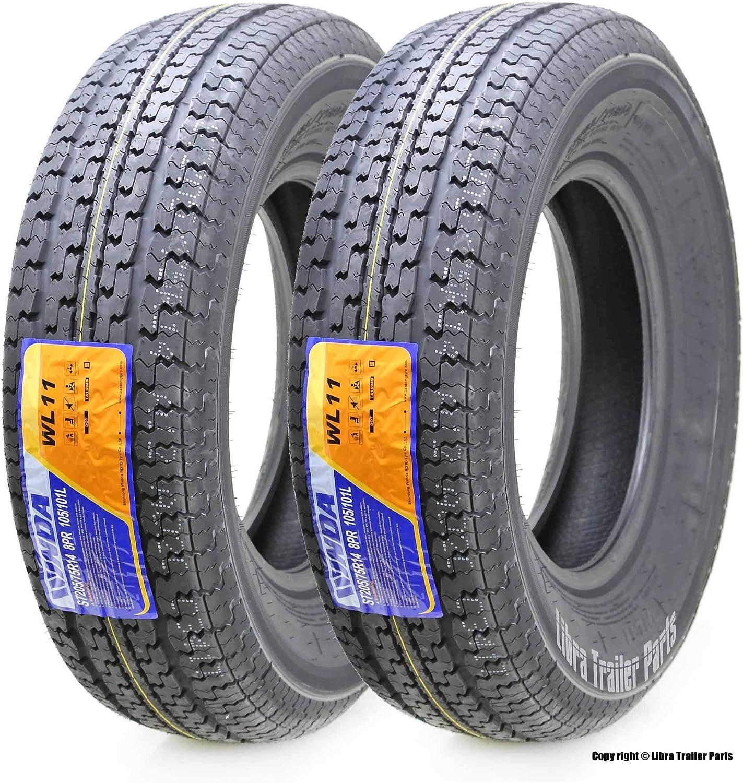 ST 205//75R14 Freestar M-108 6 Ply C Load Radial Trailer Tire 2057514