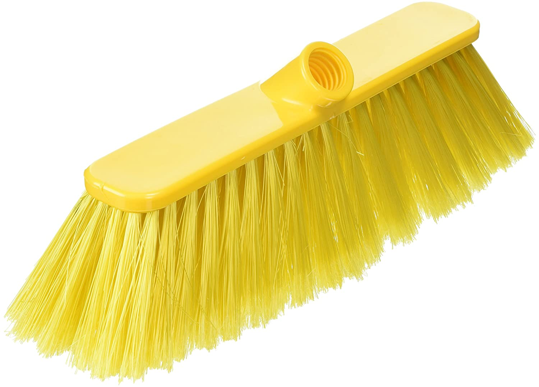 BUNZL P04050 Broom Head, Soft, 30 cm, Yellow BZ01201
