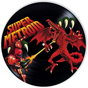 Leooolukkin Super Metroid Vinyl Decor, Wall Decor Painted Super Metroid, Original Gifts for Video Games Lovers,The Best Gift for Teenagers, Souvenir, Unique Wall Art Home Decor