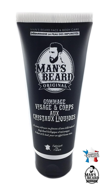 Man's Beard - Gommage Exfoliant 100 Ml Visage Et Corps Aux Cristaux Liquides Débarrasse La Peau Des Impuretés - fabrication française