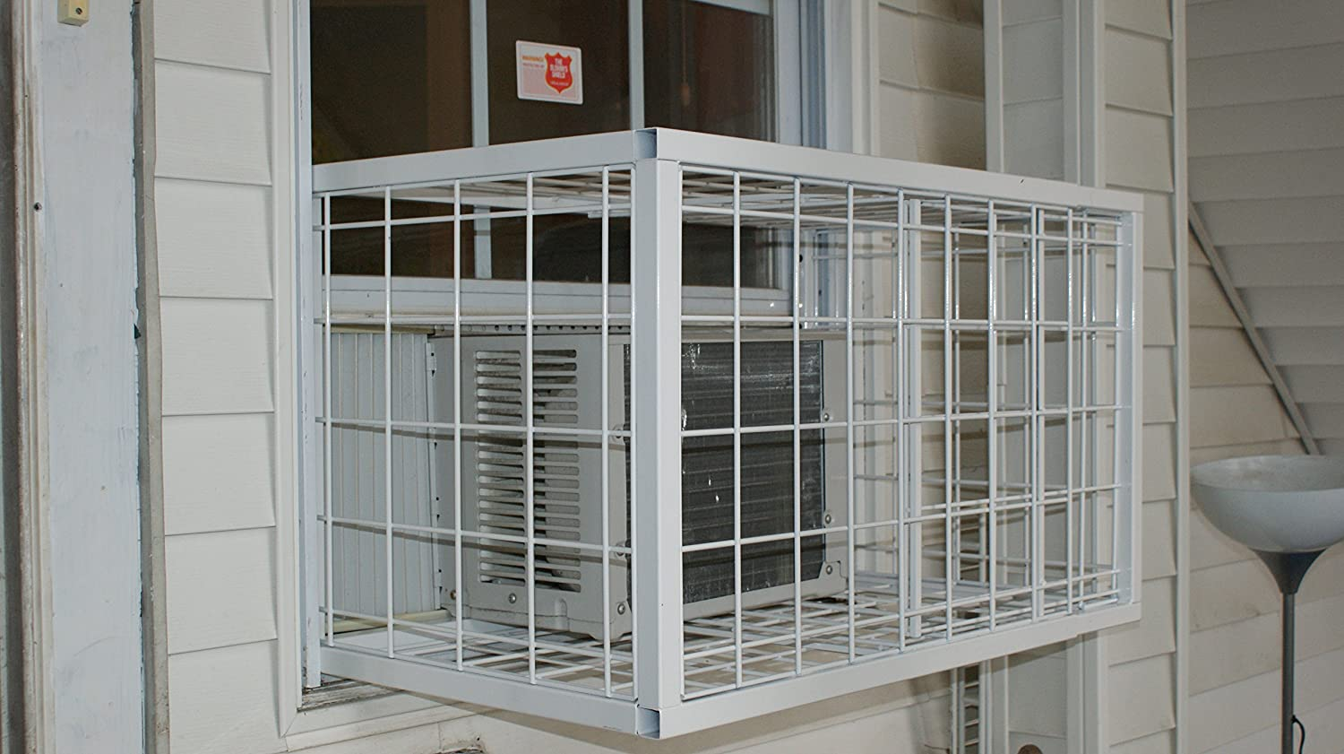 AC Window Guard Cage