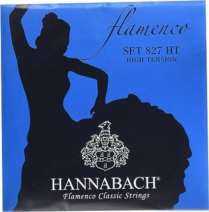 Hannabach 827HT - Cuerdas para guitarra clásica 827HT: Amazon.es ...