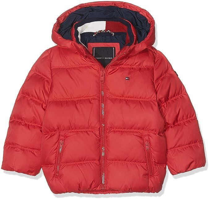 c0986215 Tommy Hilfiger Baby Boys Essential Basic Down Jacket Jacket, Red (Apple  627), 86: Amazon.co.uk: Clothing