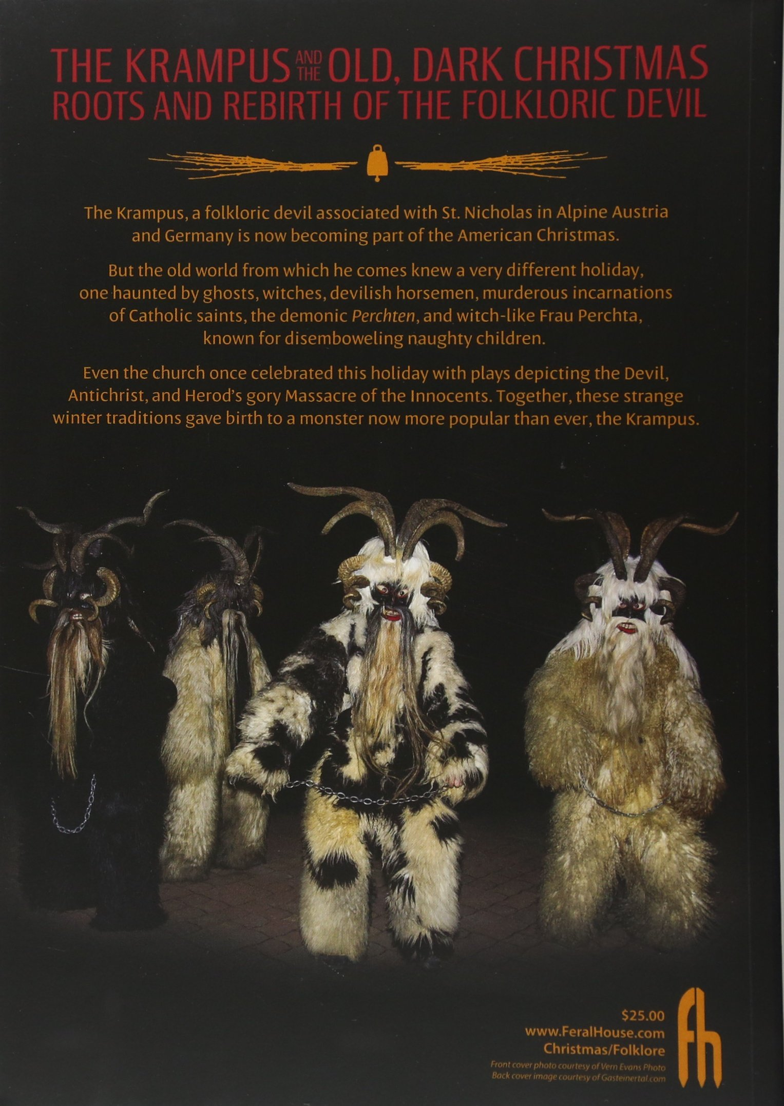 The Krampus and the Old, Dark Christmas: Roots and Rebirth of the ...