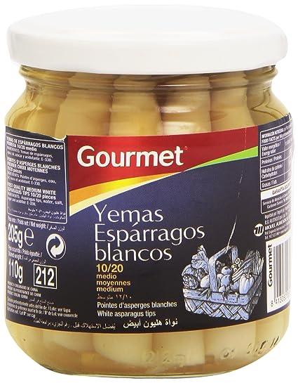 Gourmet Yemas Espárragos Blancos - 110 g