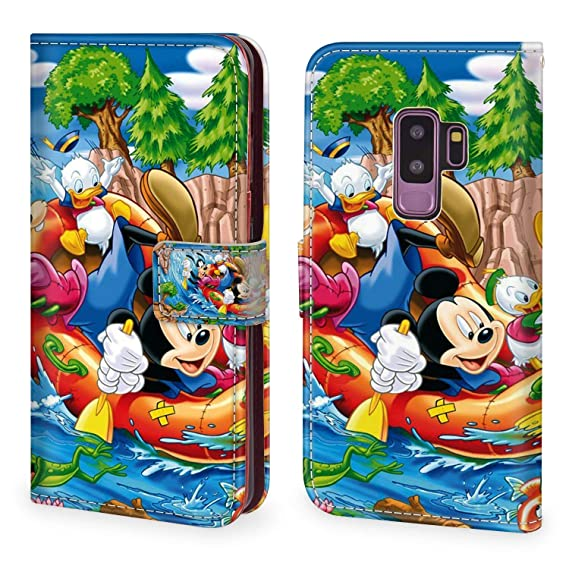 Amazon Com Disney Collection Samsung Galaxy S9 Plus Leather