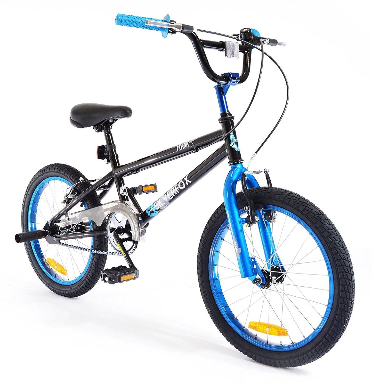 SilverFox - Bicicleta BMX freestyle ( 18 \