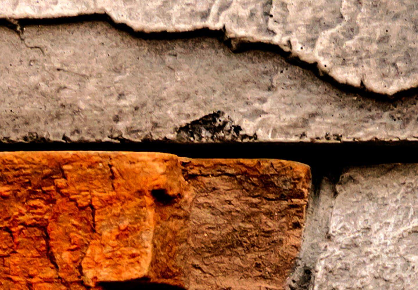 Fototapete Steinoptik 400x280 cm Vlies Tapete Moderne Wanddeko Wandtapete Wand Dekoration Steintapete Steine Stein Mauer Steinoptik 3D f-B-0013-a-a murando Design Tapete