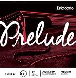 D'Addario 达达里奥 Prelude 中等张力 3/4 大提琴套弦 J1010 3/4M