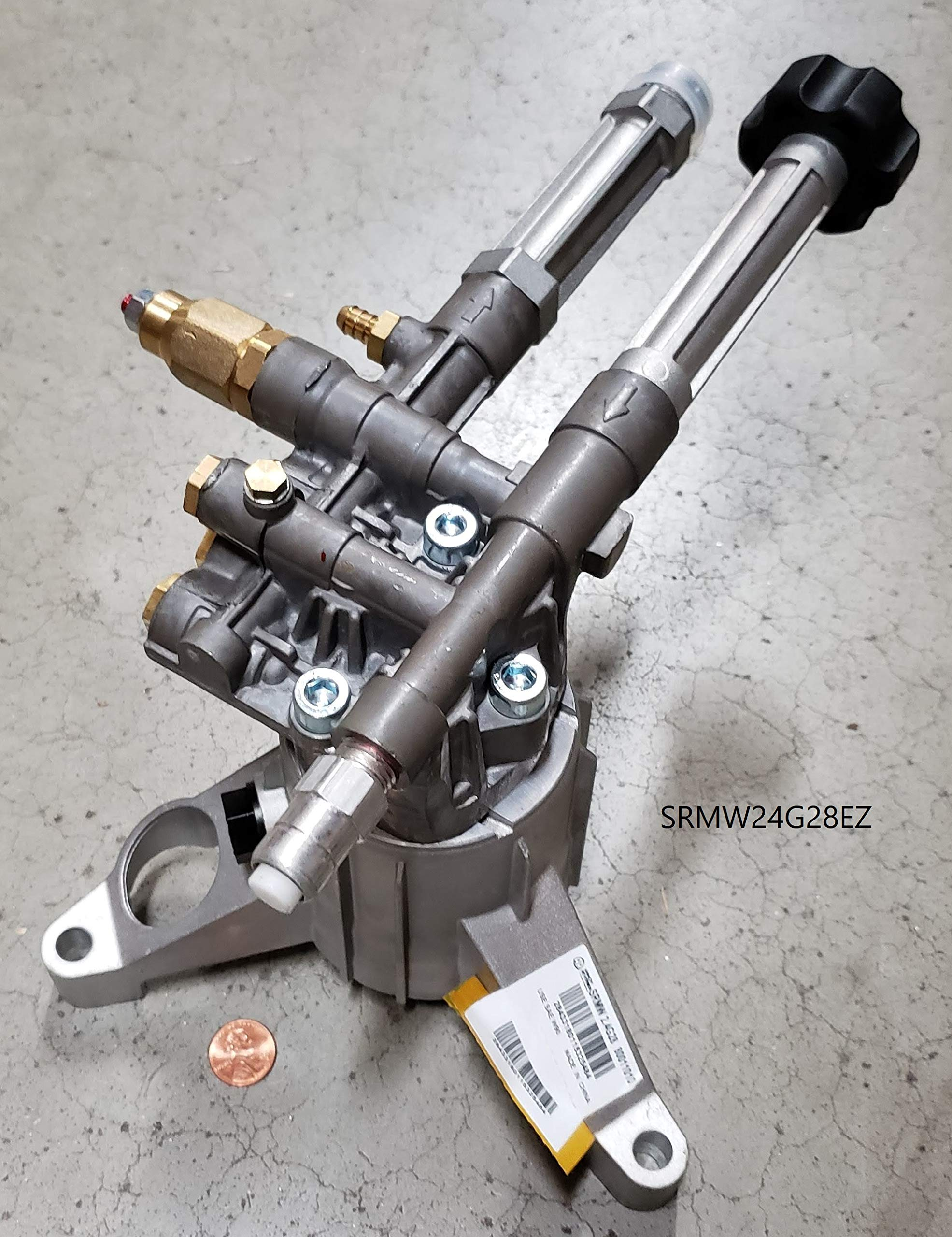 Annovi Reverberi SRMW24G28EZ AR Kit SRMW24G28-EZ, 2.4 GPM, 2800 PSI, Vertical Pump, Natural by Annovi Reverberi