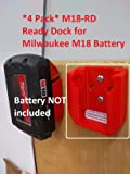 M18 Ready Dock/Mount for Milwaukee M18