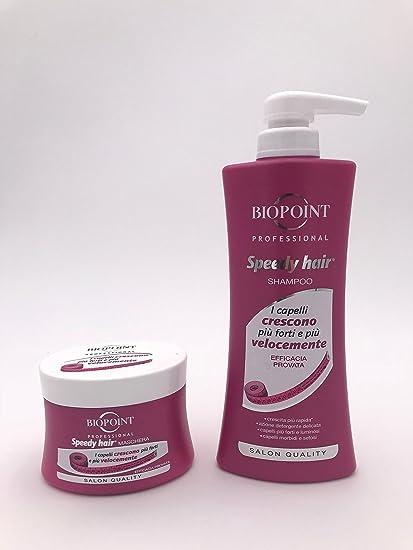 Kit pelo Biopoint Speedy Hair Shampoo 400 ml + Máscara 250 ml ...