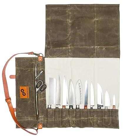 44d5d14455 Amazon.com  EVERPRIDE Chef Knife Roll Bag
