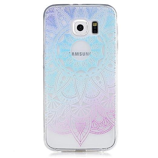 7 opinioni per Samsung Galaxy S6 Custodia, CXTcase Galaxy S6 Cover Silicone Trasparente Morbido