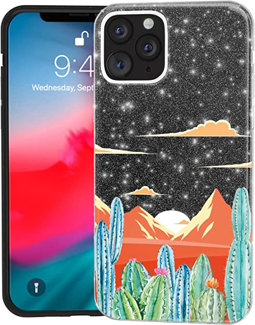 Amazon.com: Mertak Glitter Case for Apple iPhone 11 Pro Max 10 Xr ...
