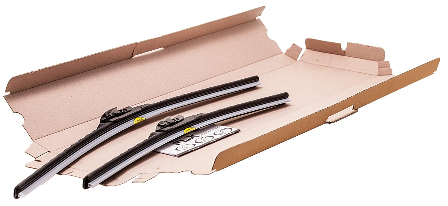 Amazon.com: SilBlade FLX 2119 Premium Beam Wiper Blade Set - 19