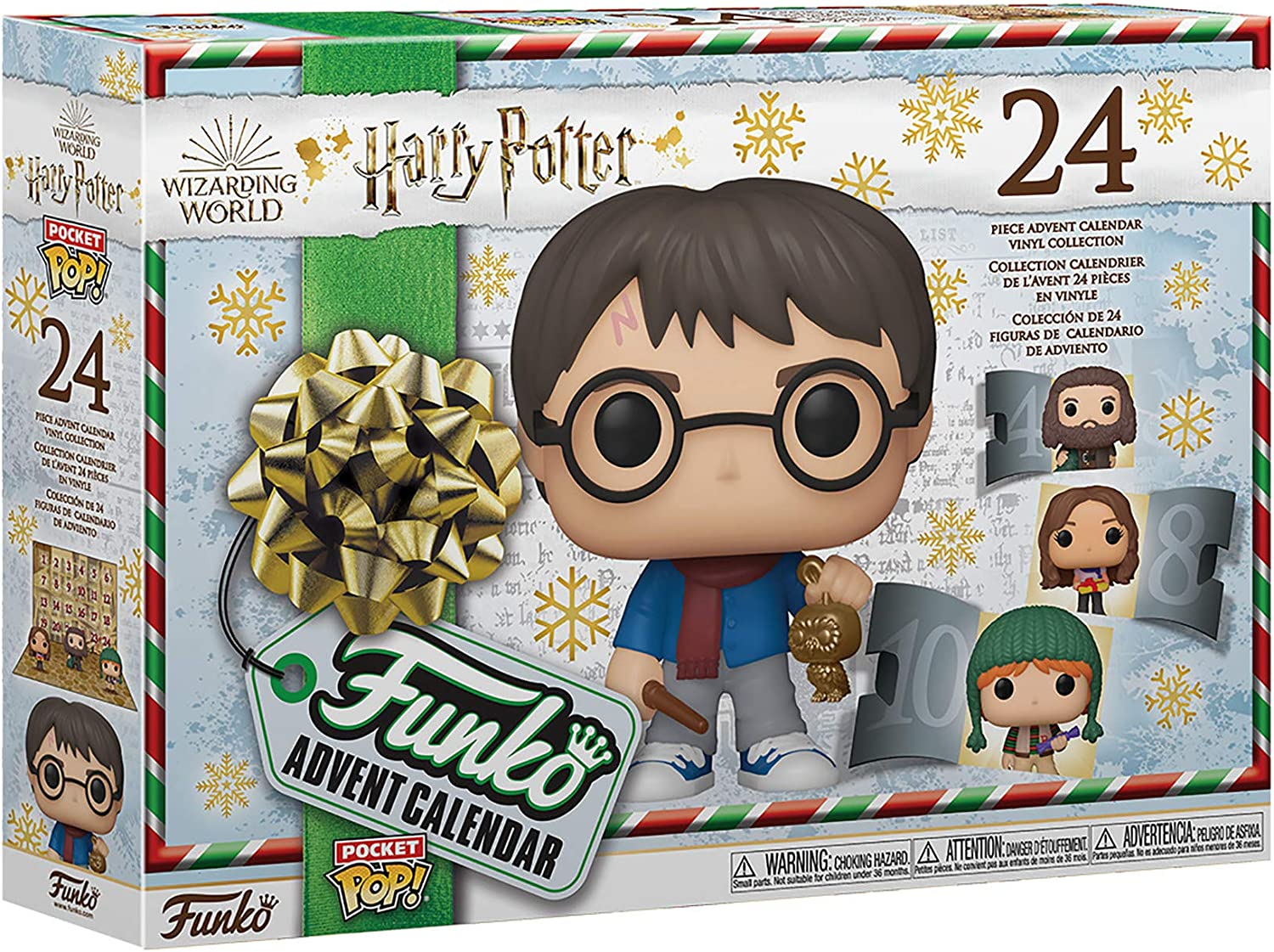 Amazon.com: Funko Advent Calendar: Harry Potter   24 Vinyl Figures