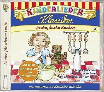 Kinderlieder Klassiker Backe Backe Kuchen Kiddinx Amazon De Musik