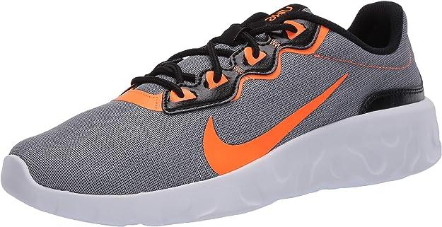 Nike Explore Strada, Zapatillas para Hombre, Gris Fresco Total Naranja Negro Blanco, 44.5 EU: Amazon.es: Zapatos y complementos