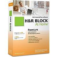 H&R Block At Home 2010 Premium Federal + State + eFile [Old Version]