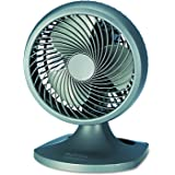 """Holmes HOAF90-NTUC Blizzard 9"""" Three-Speed Oscillating Table/Wall Fan, Charcoal"""
