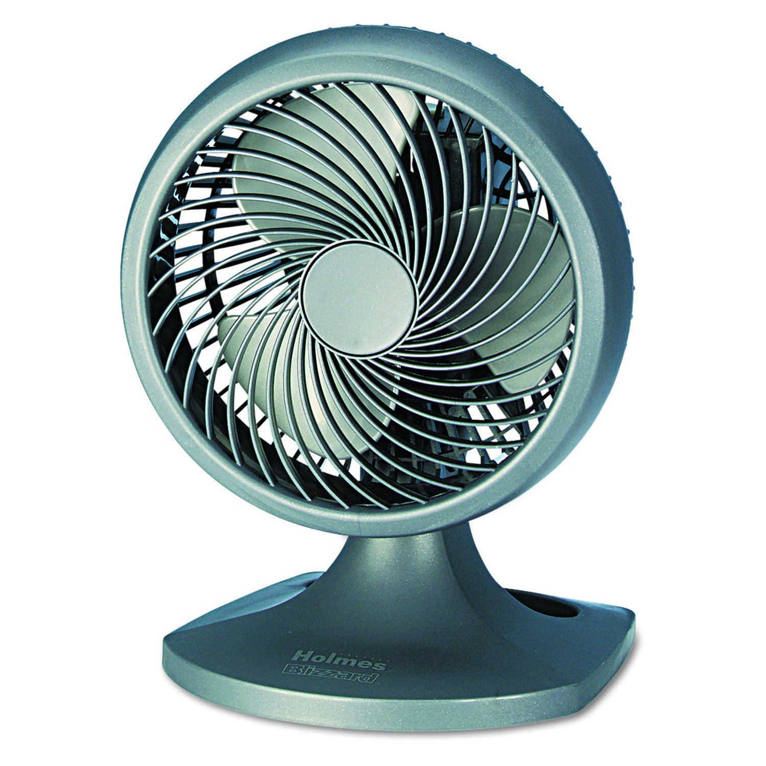 Holmes HOAF90-NTUC Blizzard 9'' Three-Speed Oscillating Table/Wall Fan, Charcoal