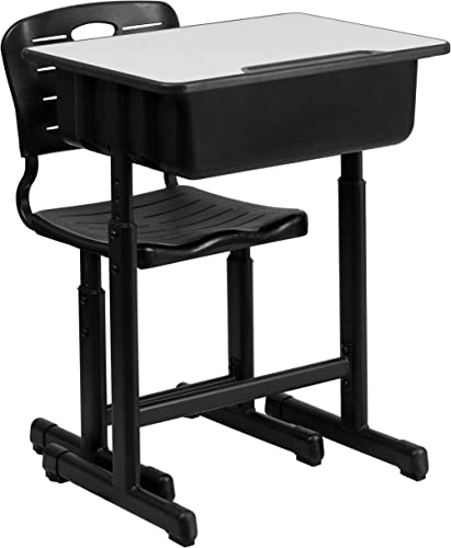 Flash Furniture Adjustable Height Student Desk and Chair