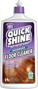Quick Shine High Traffic Hardwood Floor Cleaner, 27 Fl. Oz. Bottle