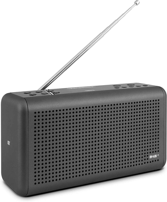 Nordmende Transita 210 Tragbares Dab Ukw Digitalradio Portable Musikbox Mit Bluetooth Lautsprecher Outdoor Radio Mit Akku Uhr Heimkino Tv Video